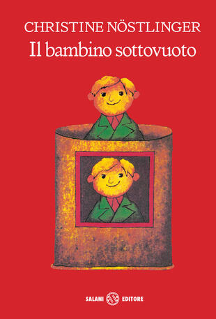 copertina Il bambino sottovuoto - Bambine Salani