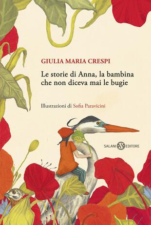 copertina Le storie di Anna, la bambina che non diceva mai le bugie