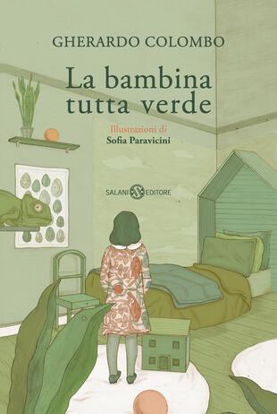 copertina La bambina tutta verde