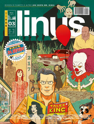 copertina Linus (2020). Vol. 3