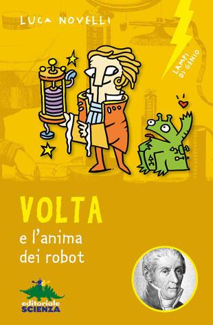 copertina Volta e l'anima dei robot