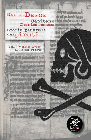 copertina Storia generale dei pirati