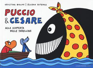 copertina Puccio e Cesare alla scoperta delle tabelline