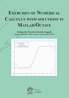 Exercises of numerical calculus with solutions in MATLAB/OCTAVE