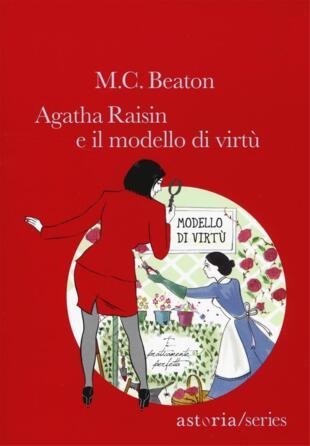copertina Agatha Raisin e il modello di virtù