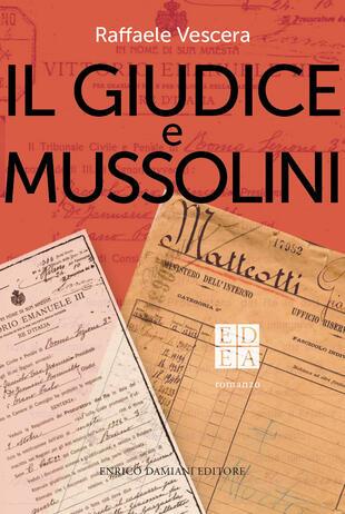 copertina Il giudice e Mussolini