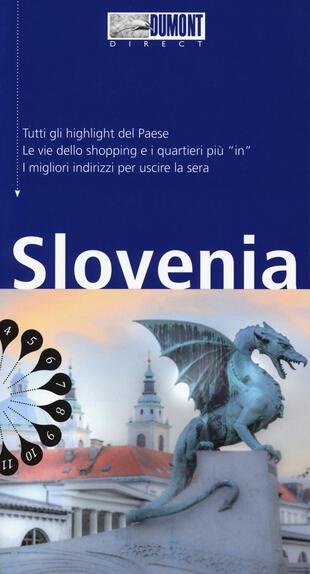copertina Slovenia. Con mappa
