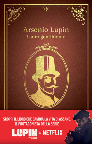 copertina Arsenio Lupin. Ladro gentiluomo