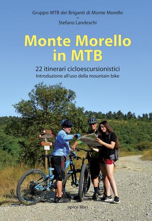 copertina Monte Morello in MTB. 22 itinerari cicloescursionistici